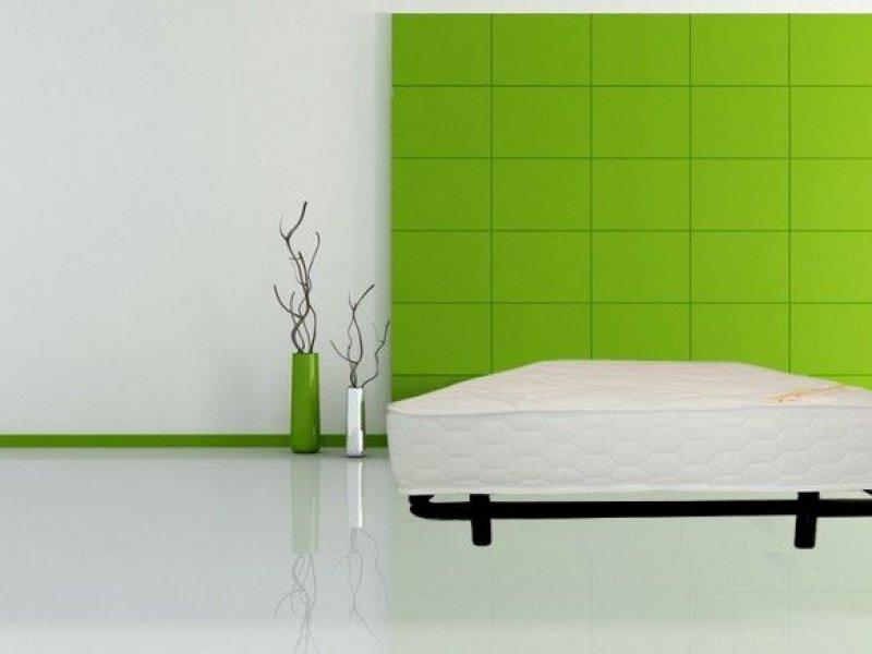 Acheter Ensemble 120x190 + 5 pieds - Matelas IRIS 30 kg + Sommier C20 pas cher !