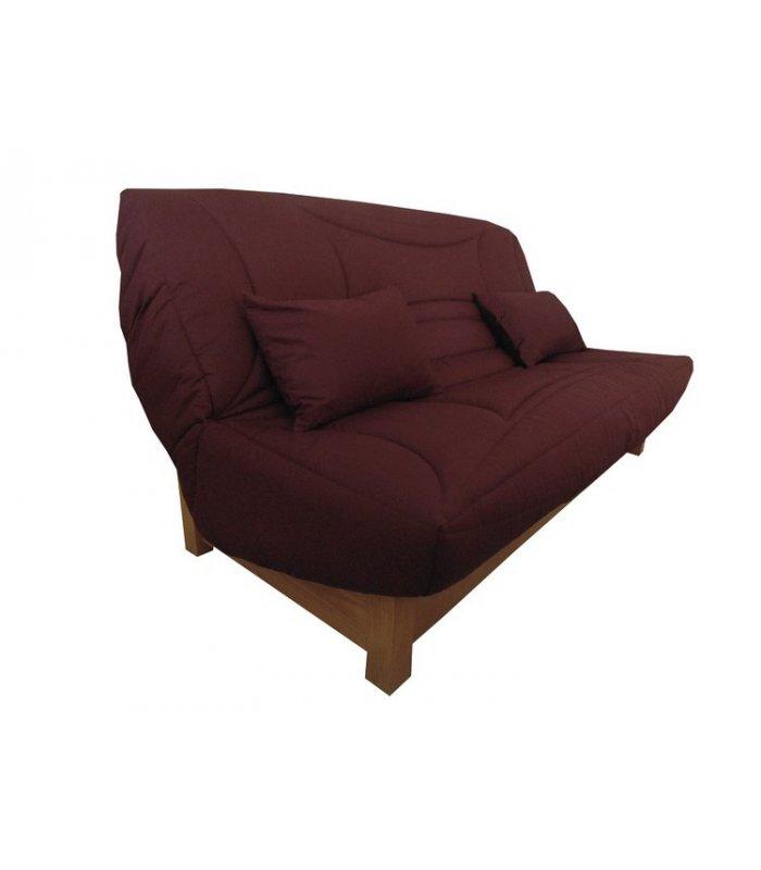 housse banquette clic clac 140x190 pas cher auberge. Black Bedroom Furniture Sets. Home Design Ideas