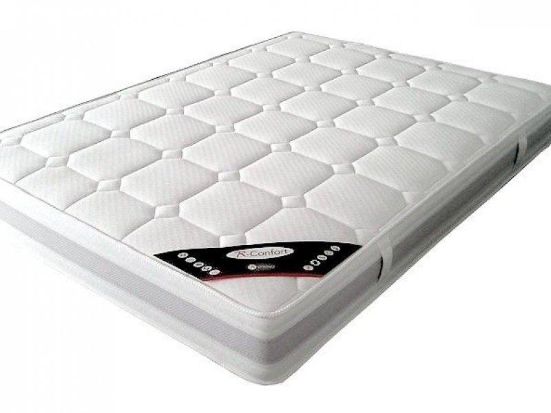 Acheter Matelas 180x200 ressorts ensachés confort - 22 cm pas cher !